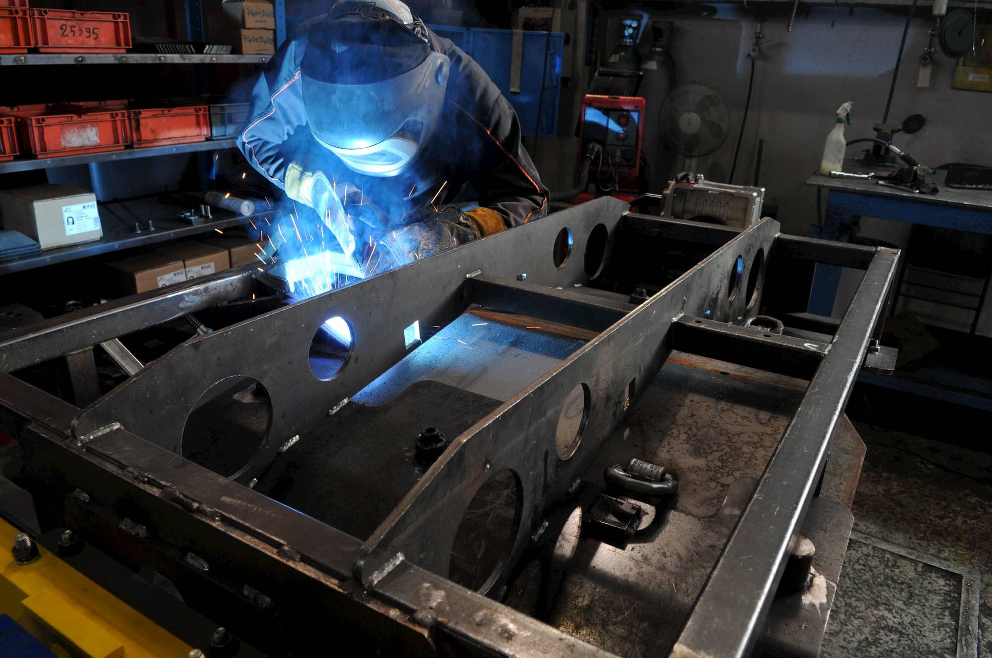 fabrication soudure chassis - JOGAM SET
