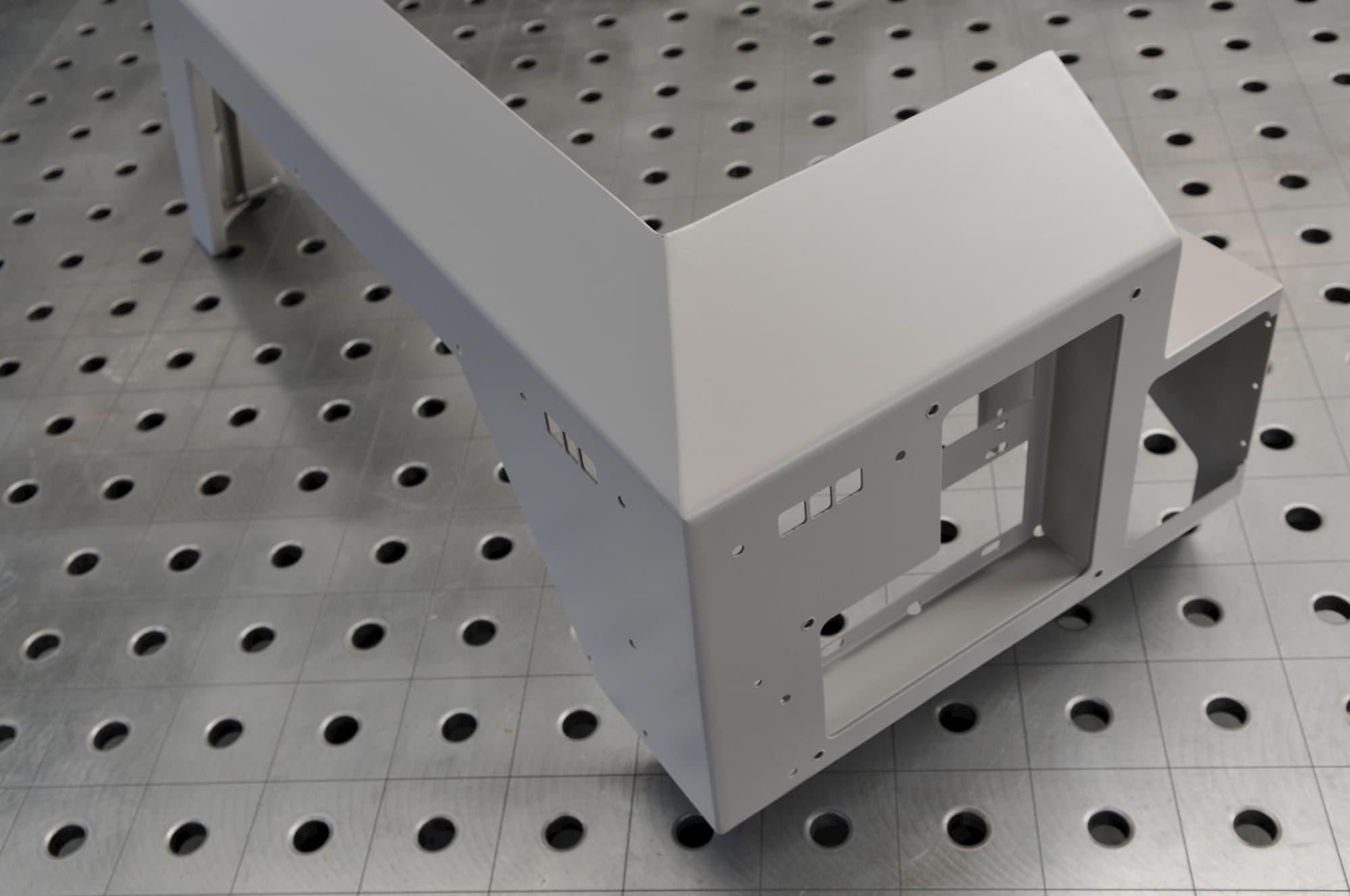 découpe laser, pliage soudure manuelle robotisée pièce mécanique grande dimension - JOGAM SET