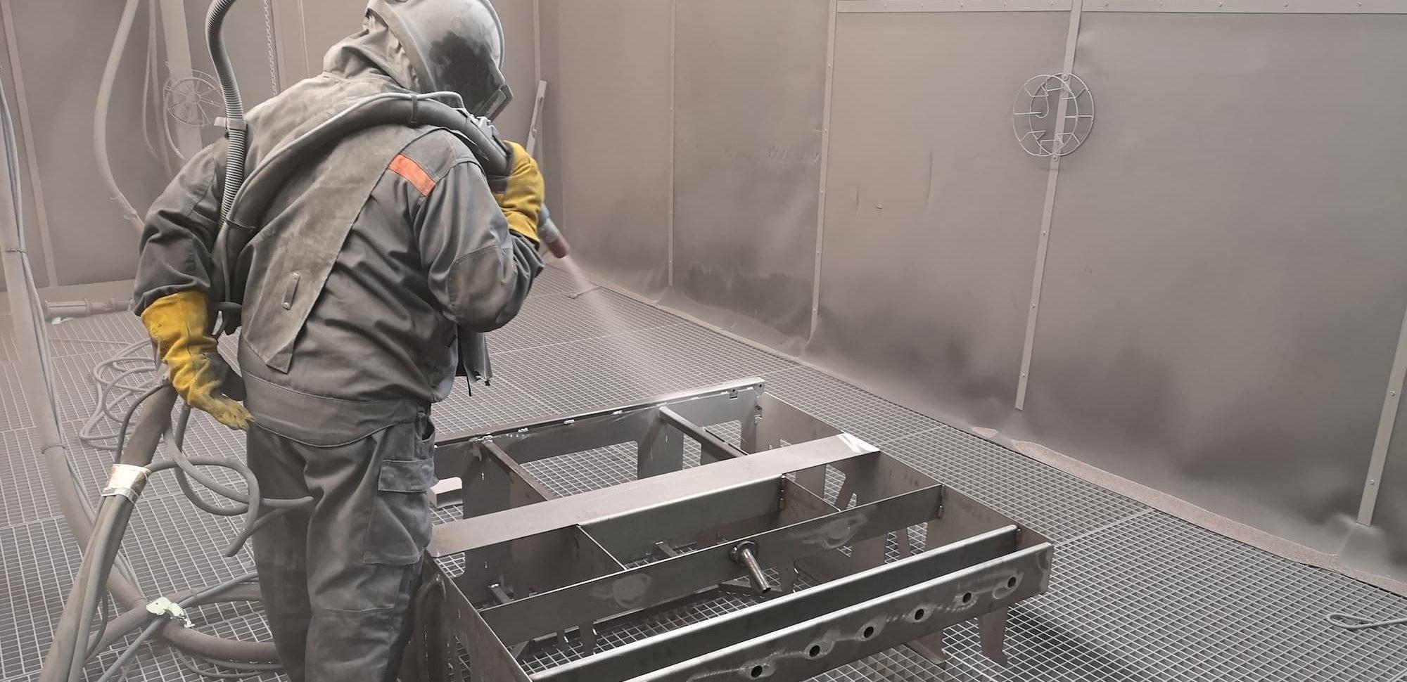 Grenaillage manuel ou automatique préparation de surface peinture militaire industrielle - JOGAM SET