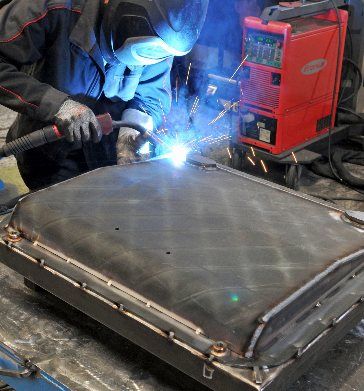 soudure manuelle et robotisée aluminium, acier, tôle blindée, inox - JOGAM SET